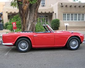 Photo: Warren and DorLisa Berg's 1963 Triumph TR-4