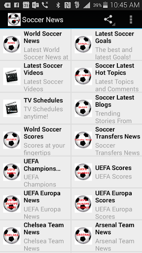 Soccer News and Updates