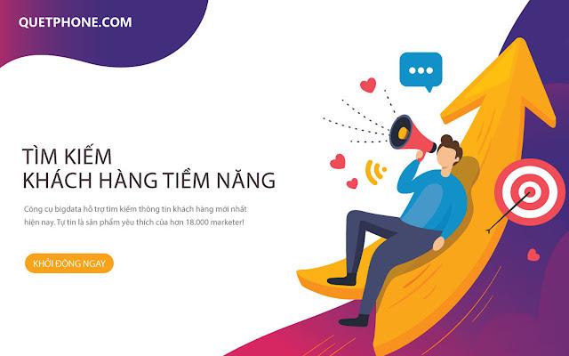 QuetPhone.Com - Tìm kiếm khách hàng trên FB