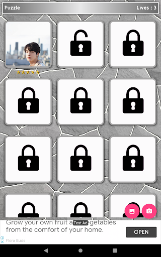 Jin BTS Game Puzzle android2mod screenshots 9