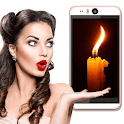 Blow Candle icon