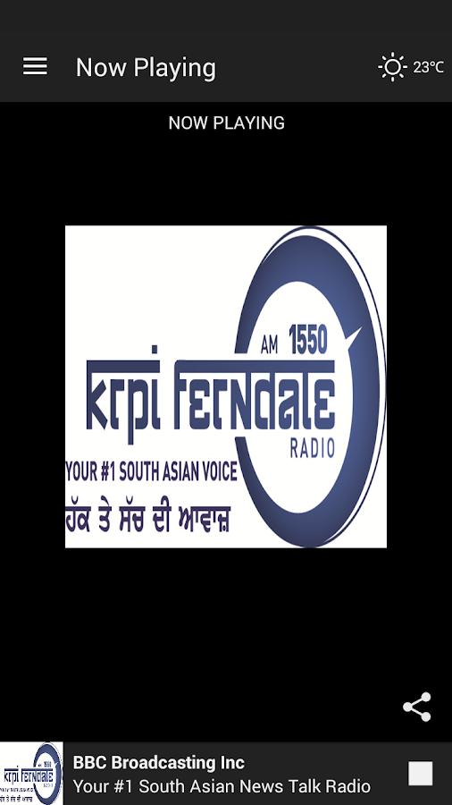 KRPI Ferndale 1550 AM - screenshot
