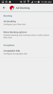 Adblock Browser for Android- screenshot thumbnail