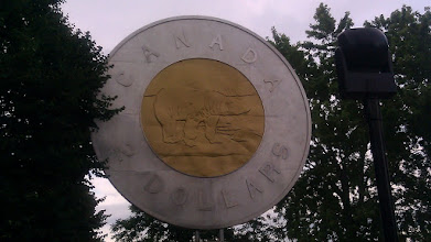 Photo: The worlds largest Toonie!