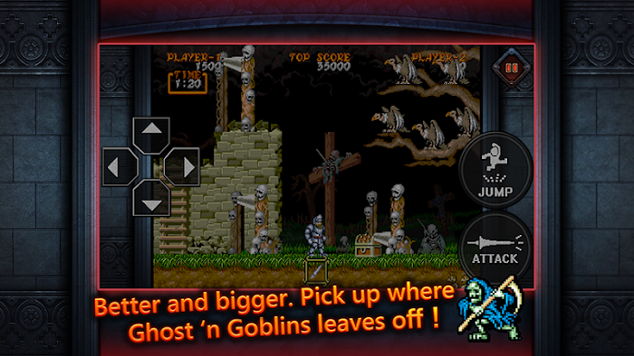 Ghouls'n Ghosts MOBILE Apk
