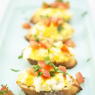 Creamed Crab Toast Recipes