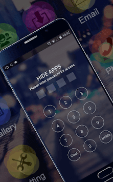 Stylish Romantic Theme: Neon Night Street Launcher APK screenshot thumbnail 4