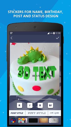 3D Name on Pics - 3D Text 8.1.1 screenshots 5