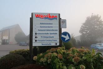 Photo: Worriken dans le brouillard