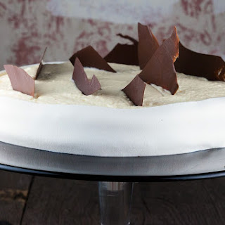 Chocolate Pie With Marzipan Mousse