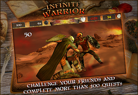 Infinite Warrior Remastered- screenshot