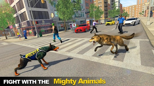Police Dog vs Wild Wolves 3