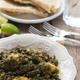 Aloo Palak (Potato and Spinach Curry) Recipe