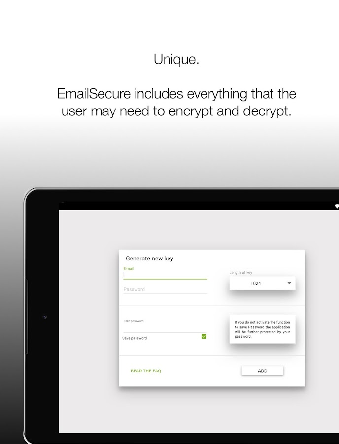 EmailSecure - PGP Mail Client- screenshot