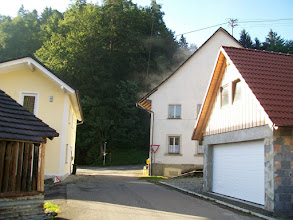 Photo: 8e Dag, donderdag 23 juli 2009 Erpfingen - Obersiggingen Aankomst: ca 16 uur Dag afstand: 98,2 km. Totaal gereden: 763 km. Op de camping in Erpfingen.