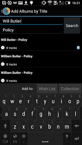 android CLZ Music - Music Database Screenshot 15