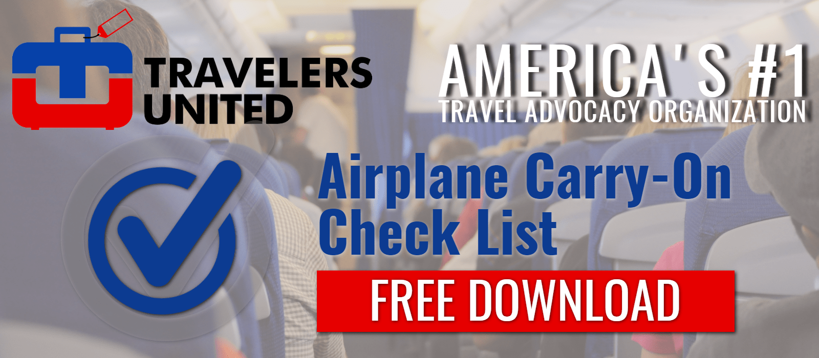 Download Airplane Carry-on Checklist