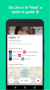 happn — Encuentros y citas Screenshot
