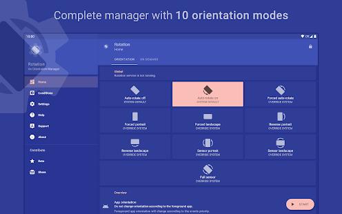 Rotation - Orientation Manager Screenshot