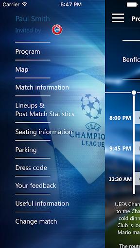 免費下載運動APP|Champions League Hospitality app開箱文|APP開箱王