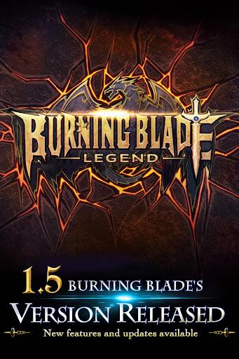 Burning Blade - Legend