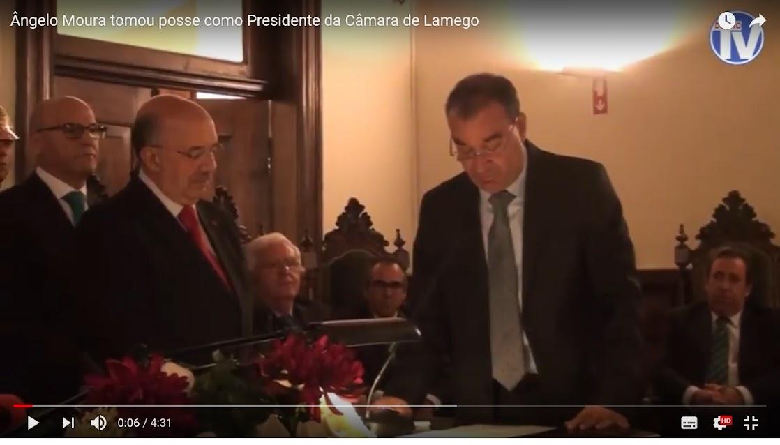 Vídeo - Ângelo Moura tomou posse como Presidente da Câmara de Lamego