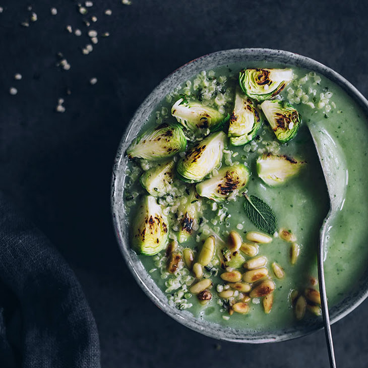 Brussel Sprouts Soup for a Gentle Ayurvedic Detox Recipe