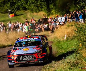 Thierry Neuville sluit Rally van Duitsland af in stijl en wint een plaatsje in race en WK-stand