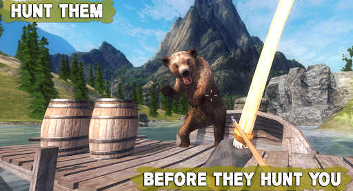 Bear Hunting 3D: Wild Animals Bow Archery Hunting android2mod screenshots 3