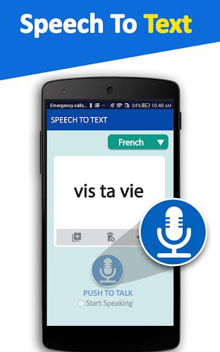 Speech To Text Converter - Voice Typing App 3.0 screenshots 2