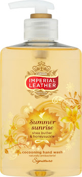 Imperial Leather Signature Cocooning Hand Wash - Summer Sunrise, Shea Butter, Honeysuckle