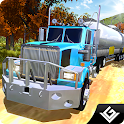 Offroad Oil Cargo Truck Sim 3D icon