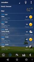Screenshot of Transparent clock & weather