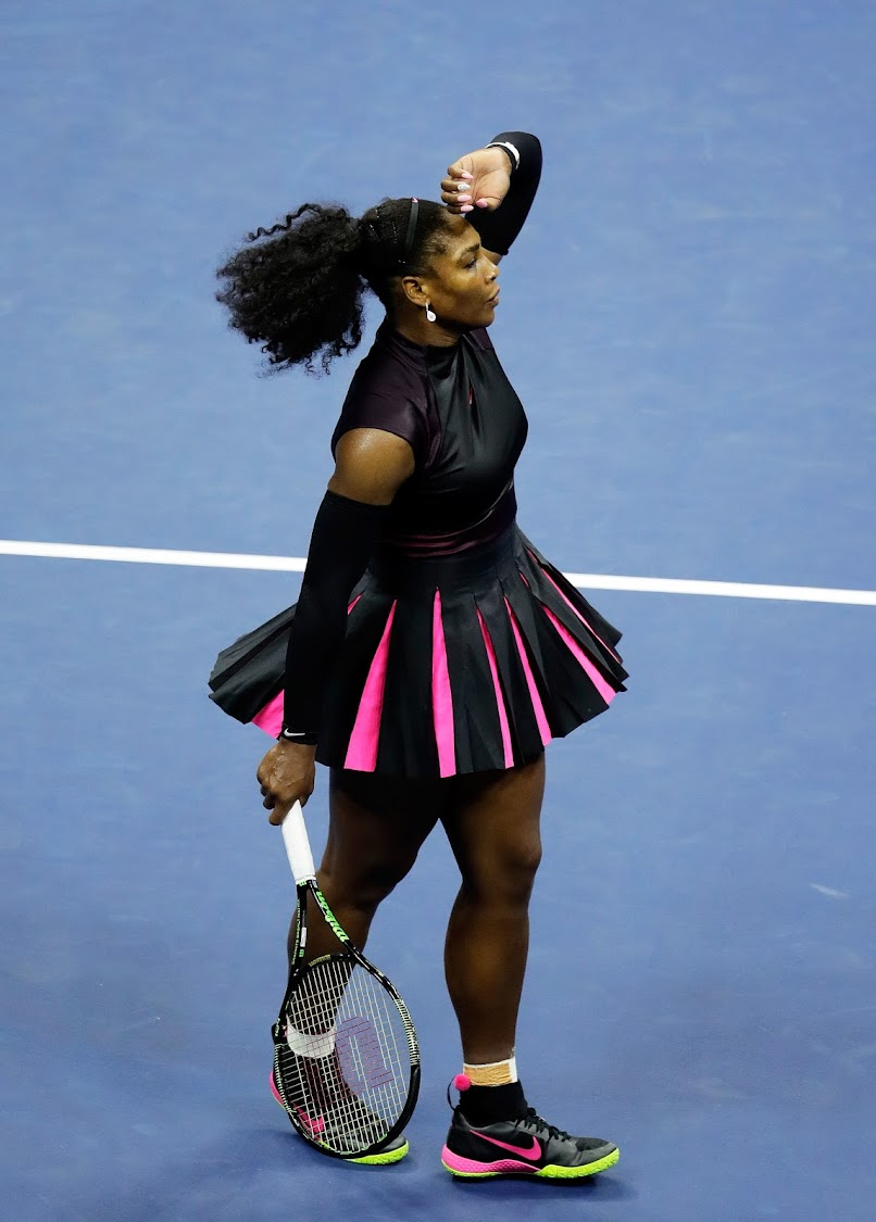 Serena Williams at the 2016 US Open in New York. (Photo by Andy Lyons/Getty Images)