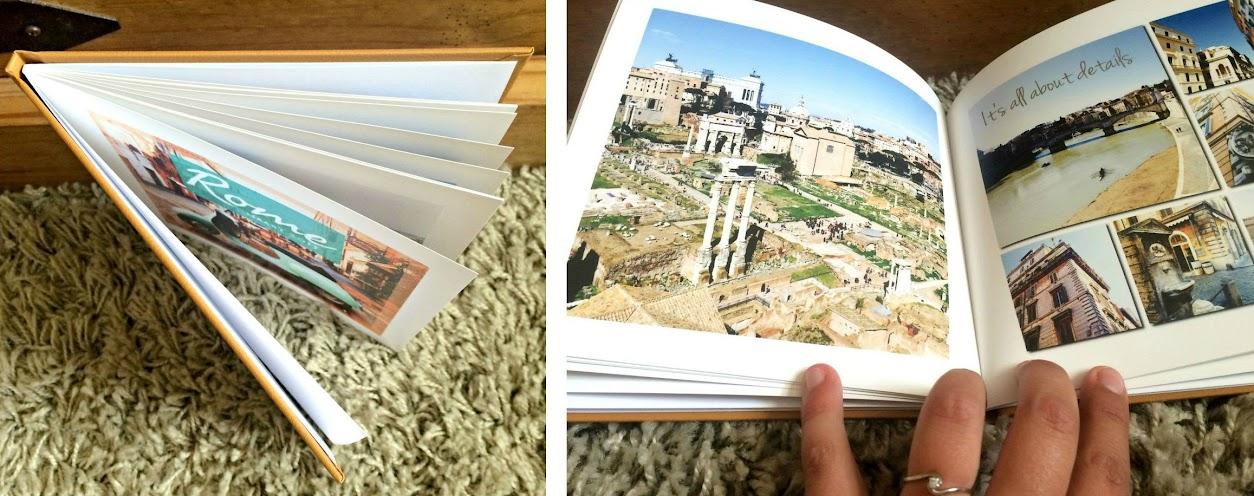 Maak eenvoudig een fotoalbum met Bookz | via It's Travel O'Clock