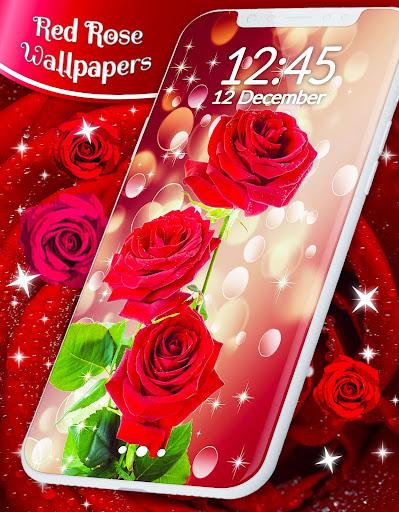 Red Rose Live Wallpaper  screenshots 1
