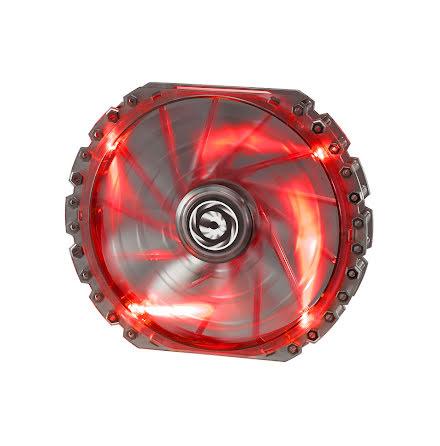 Bitfenix vifte m/rød LED, Spectre PRO, 230x30