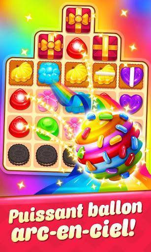 Code Triche Candy Smash - 2020 Match 3 Puzzle jeu gratuit APK MOD screenshots 3