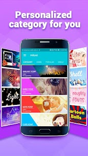HiFont – Cool Fonts Text Free + Galaxy FlipFont 6