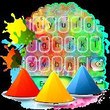 Holi Colors Keyboard Theme