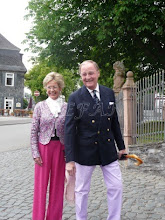 Photo: Baron Niels and Baroness Molise Iuel-Brockdorff, née Komtesse Ahlefeldt-Laurvig