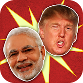 Modi vs Trump - Who's Trending