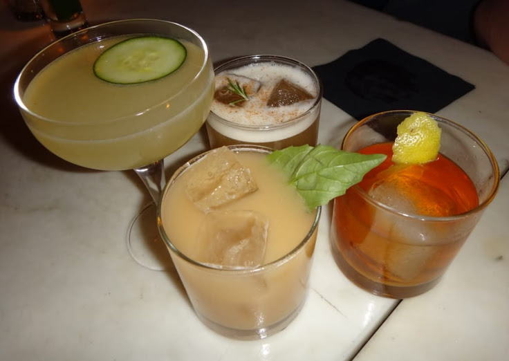 An assortment of cocktails at Local Edition.