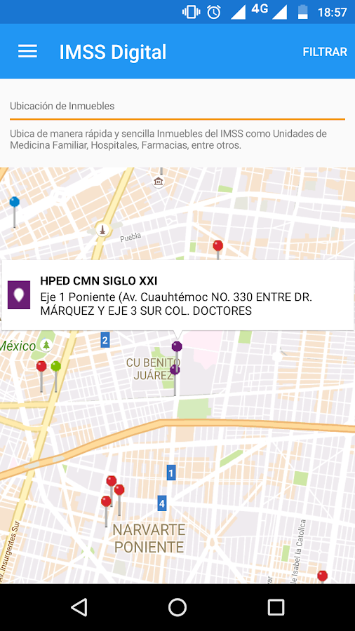 IMSS Digital- screenshot