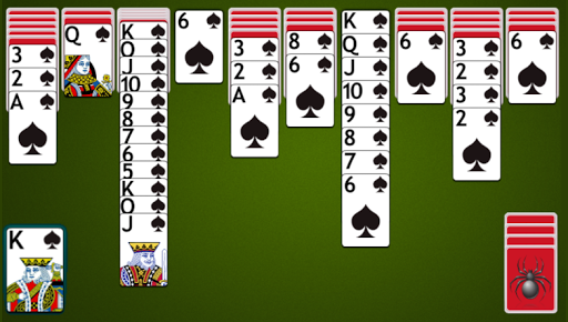 Spider Solitaire apkpoly screenshots 7