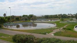 Estación de aguas residuales de El Bobar en el municipio de Almería