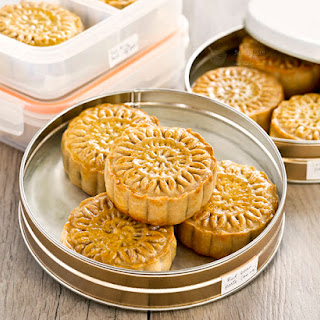 Traditional Baked Mooncakes.