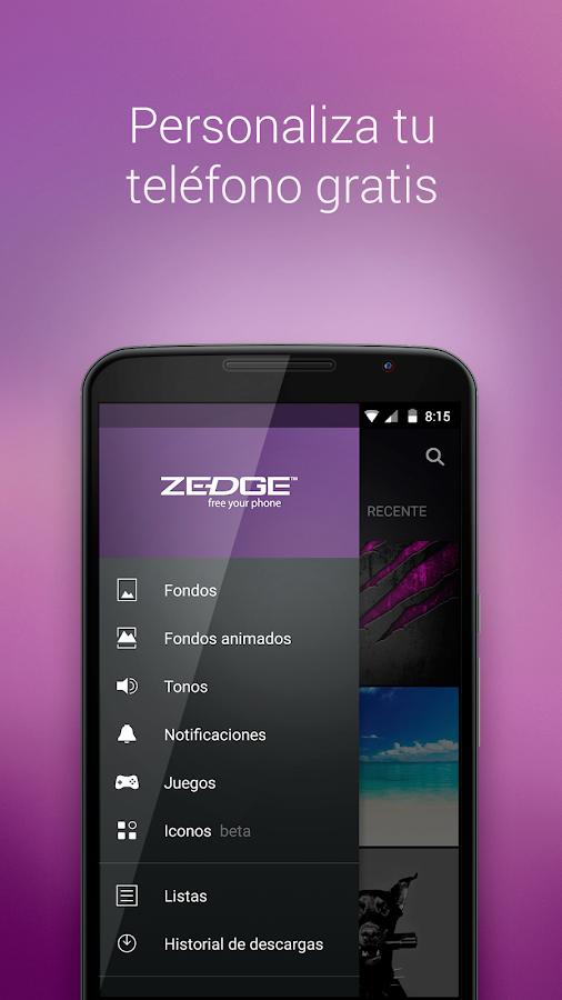 ZEDGE™ Tonos, Fondos y Iconos Aplicaciones Android en Google Play