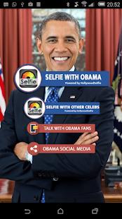 HollywoodSelfie: Barack Obama - náhled