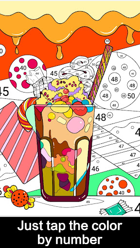 Draw Color by Number screenshot 3